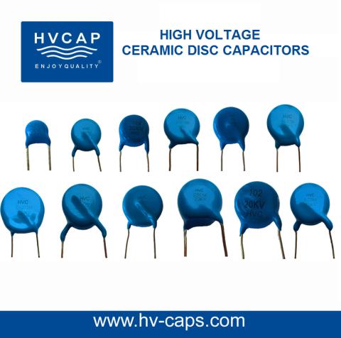 High Voltage Ceramic Disc Capacitors Hvc Capacitor High