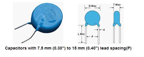 500v〜8kv高電圧セラミックディスクコンデンサ Hvcコンデンサ。 Hvcコンデンサ 高電圧セラミック